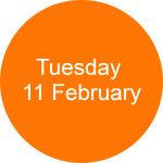 Tuesday 11 Circle